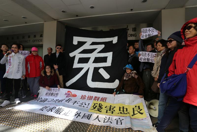 時任警司朱經緯占中執法囚三月市民喊冤