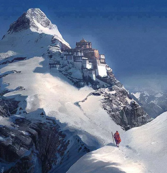 西藏下了場雪,美哭了全世界!