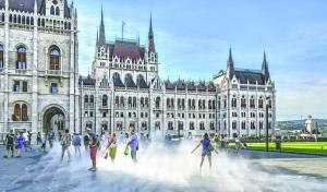 匈牙利國會大廈攝記