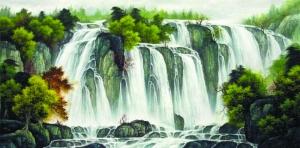蛻蛹成蝶,一幅國畫的十月懷胎