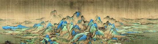 《千里江山圖》中的歷史密碼:隱藏宋徽宗人才觀