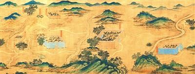 """絲路山水地圖是""""圖""""還是""""畫"""""""