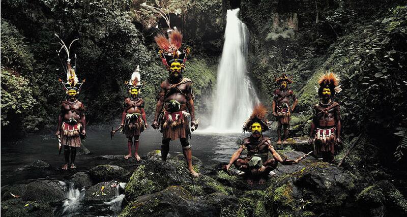 藝術攝影記錄即將消失的民族