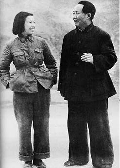 """揭秘:毛澤東和江青結婚根本不存在什么""""約法三章"""""""