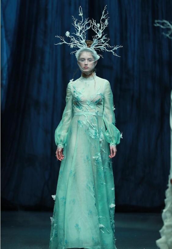 中國國際時裝周:蓋婭傳說上演江湖大秀