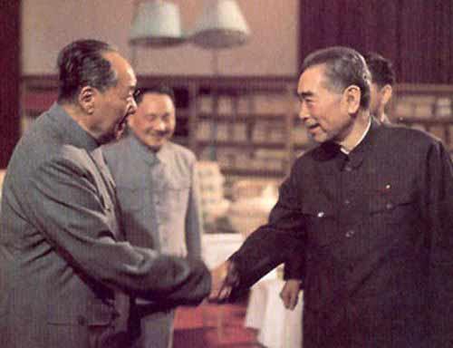 毛澤東晚年真情流露:審閱總理悼詞淚如泉涌