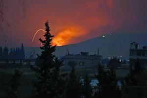敘利亞軍事目標遭導彈襲擊