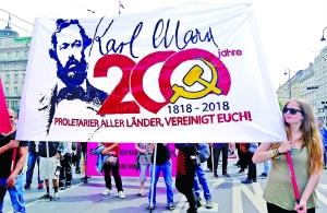 """馬克思誕辰200周年,德國掀起""""馬克思熱"""""""