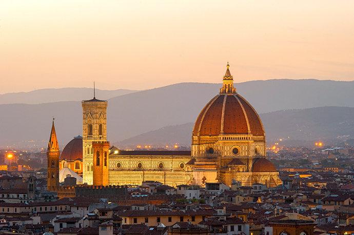 聖母百花大教堂:我可以建一個比它大的圓頂,卻不可能比它更美
