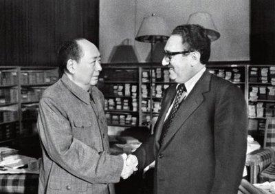 基辛格訪華期間何事引毛澤東一笑:有個人會告訴我