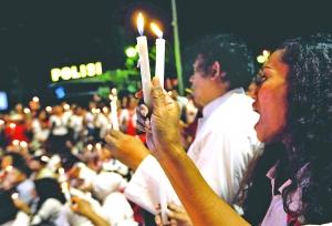 印尼警局遇襲四暴徒被斃