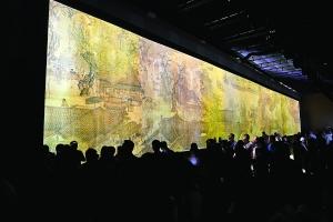 故宮博物院開啟高科技展演《清明上河圖》