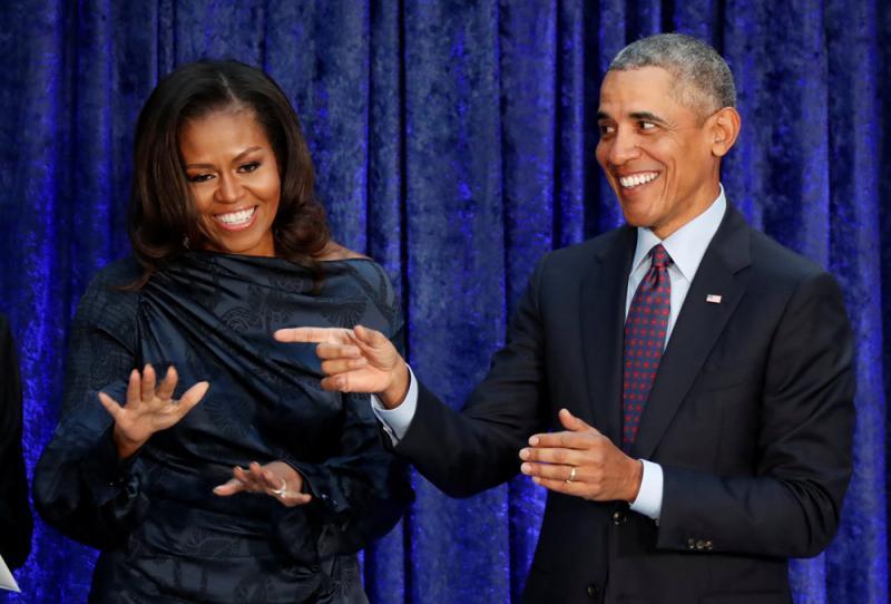 奧巴馬進軍影視界 節目明年上架