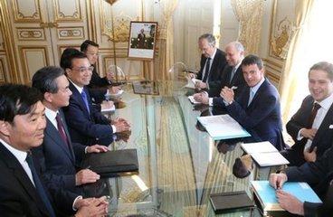 法國非常期待加強同中國的務實合作