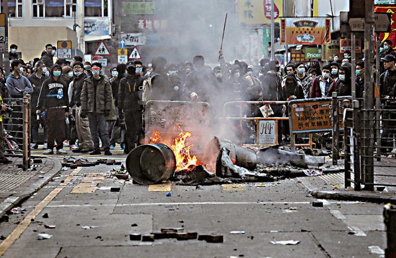 香港議員促嚴懲旺暴始作俑者
